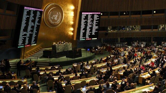 BM'de tarihi Kudüs oylaması kabul edildi
