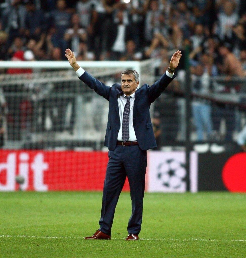 Beşiktaş Teknik Direktörü Şenol Güneş, siyah-beyazlı takımın performansını değerlendirdi.
