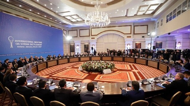 New round of Syria peace talks kicks off in Astana