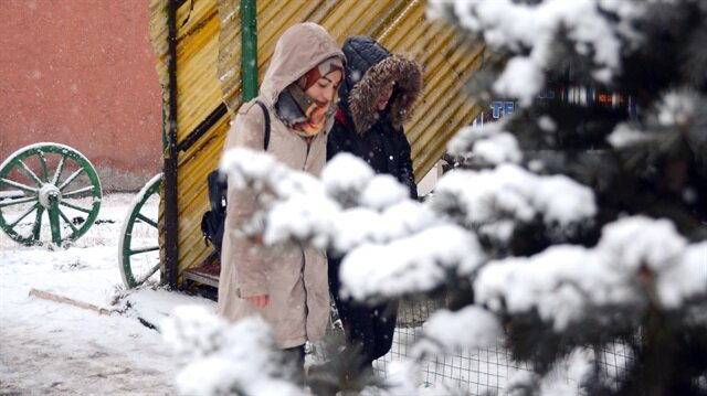 Meteorolojiden yoğun kar ve kuvvetli yağış uyarısı
