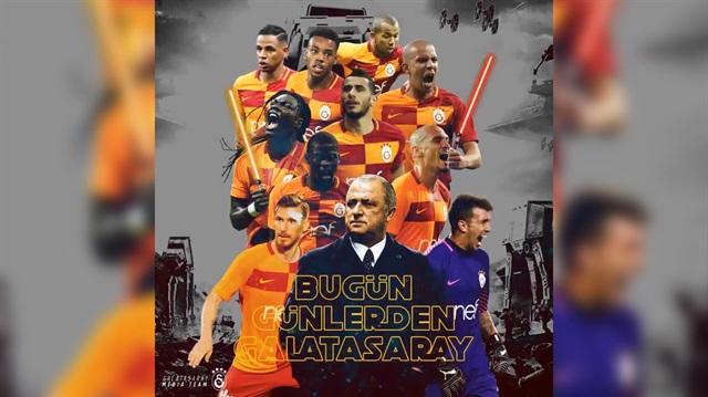 Galatasaray'dan Göztepe maçına Star Warslı tanıtım