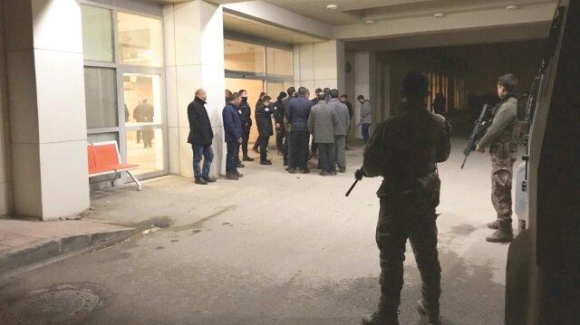 Güvenlik güçleri Sayanlar Mahallesi ile hastahane önünde yeni bir çatışma yaşanmaması için olağanüstü önlem aldı