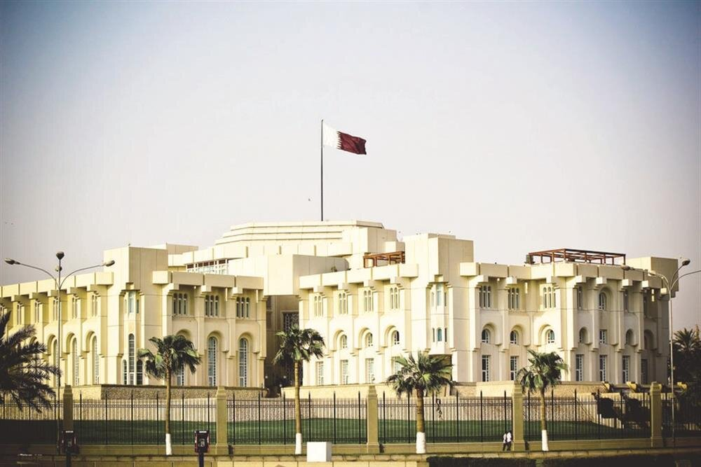 The Royal Palace in Doha
