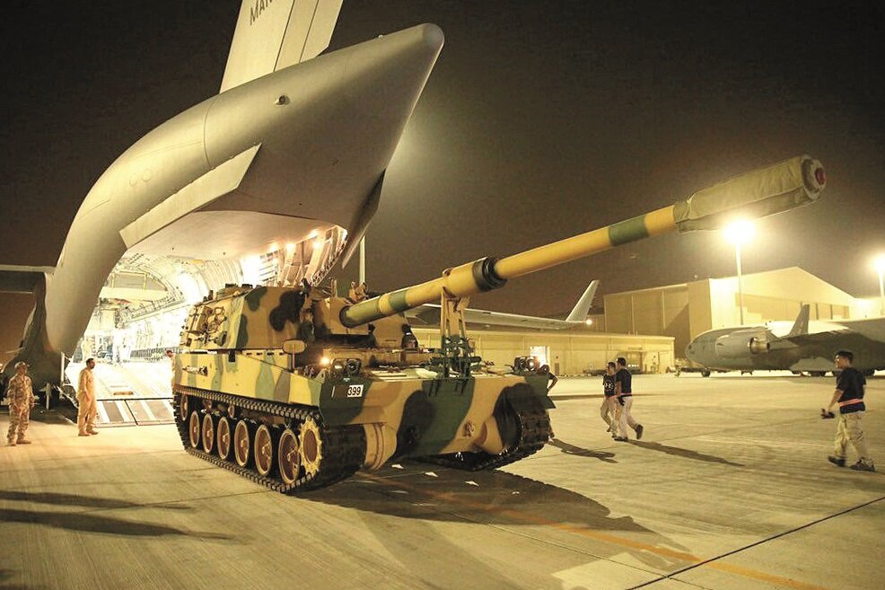 Turkish tanks sent to Qatar