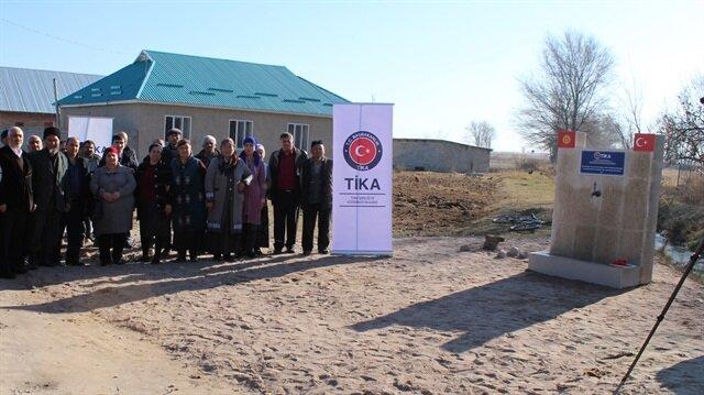 TİKA'dan Kırgızistan'a su desteği