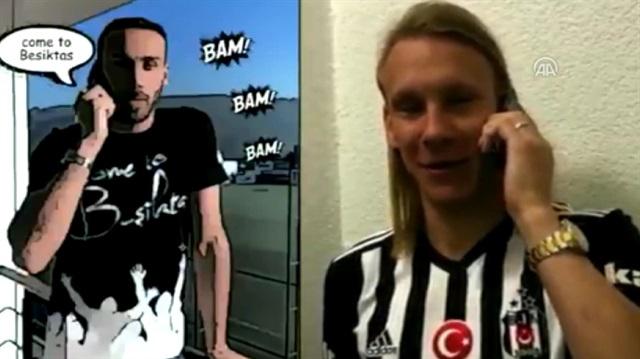 Beşiktaş Vida'yı böyle duyurdu