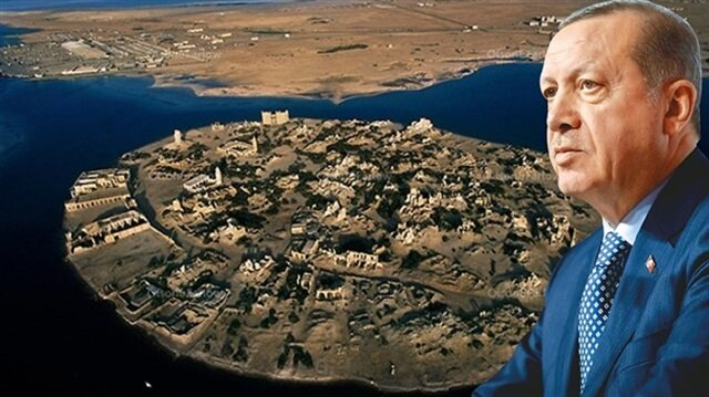 أردوغان يطلب جزيرة سواكن من البشير