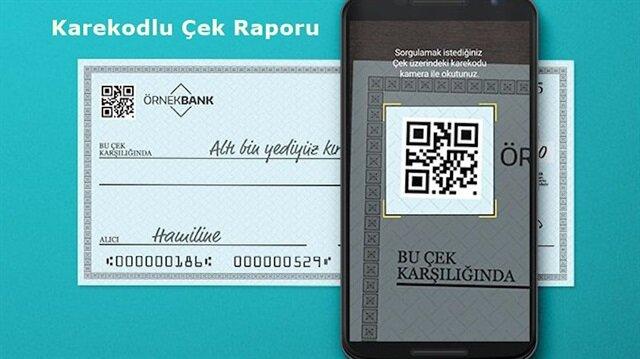 Karekodlu Çek Raporu nasıl kullanılır?