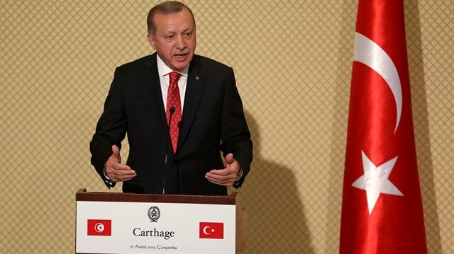 Turkey to strengthen trade ties with Tunisia: Erdogan