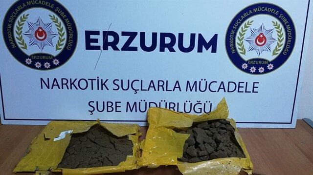 Erzurum'daki uyuşturucu operasyonunda 4 kişi tutuklandı