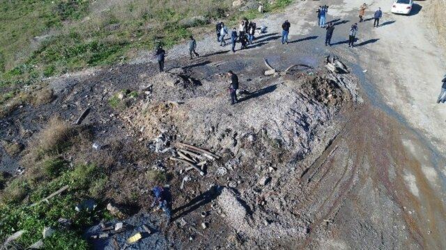 Tuzla'daki kimyasal atık ölümlere neden olabilir