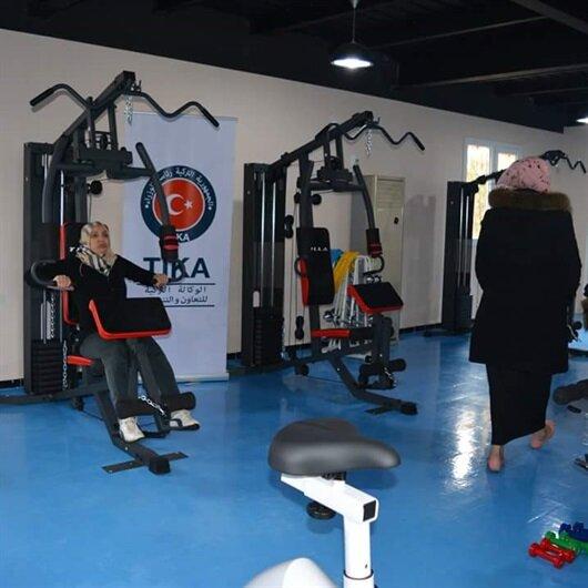 TİKA Cezayir'de terör mağduru kadınlar için spor merkezi açtı