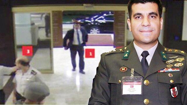 Yüzbaşı Burak Akın 'FETÖ'cüyüm' dedi teslim oldu