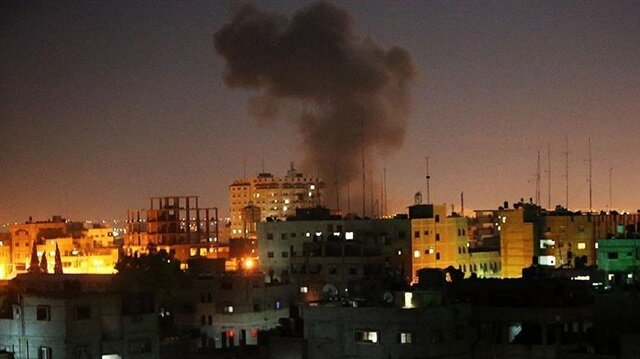 Gaza rocket hits building in southern Israel