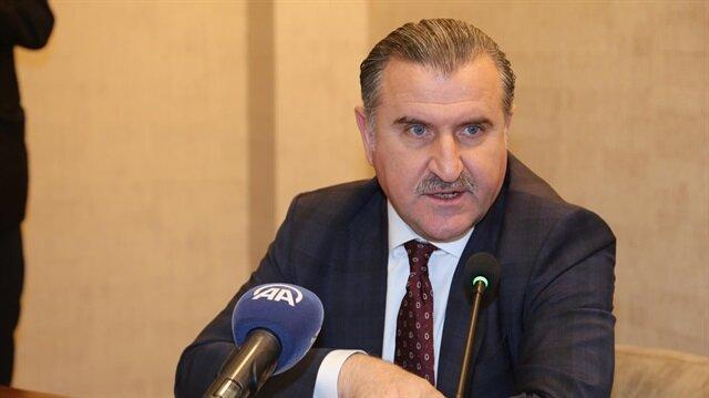 Gençlik ve Spor Bakanı Osman Aşkın Bak Rize'de açıklamalarda bulundu.