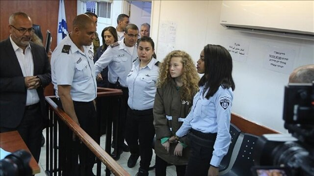 Twitter account of jailed Palestinian teenage girl Tamimi deleted