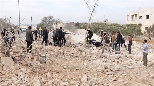Fighting in Syria's Idlib leaves 66 dead
