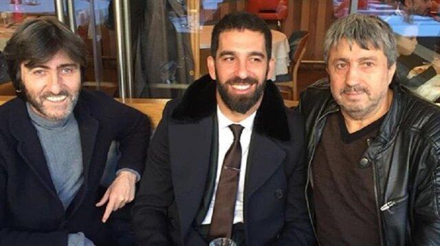 Rıdvan Dilmen tatil için İstanbul'da bulunan Arda Turan'la buluştu.