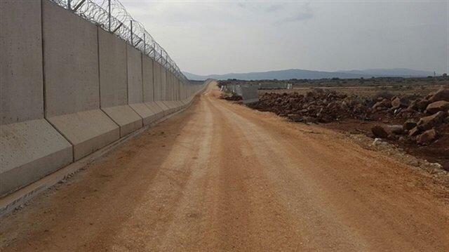 TOKİ has completed half of the wall on the border with Iran.