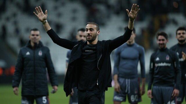 Beşiktaş'ın milli futbolcusu Cenk Tosun, bu akşam saatlerinde İstanbul'dan ayrıldı.