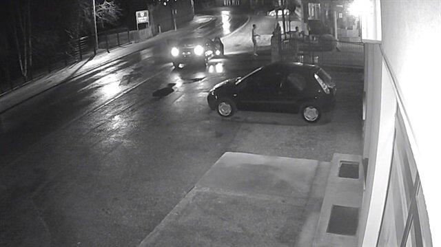 Ljubicic ve arkadaşının çirkin saldırısı kameralar tarafından görüntülendi.