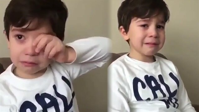 Cenk Tosun'un gideceğini öğrenince gözyaşlarına boğuldu