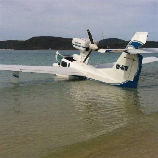 Avustralya'da 6 kişiyi taşıyan deniz uçağı düştü
