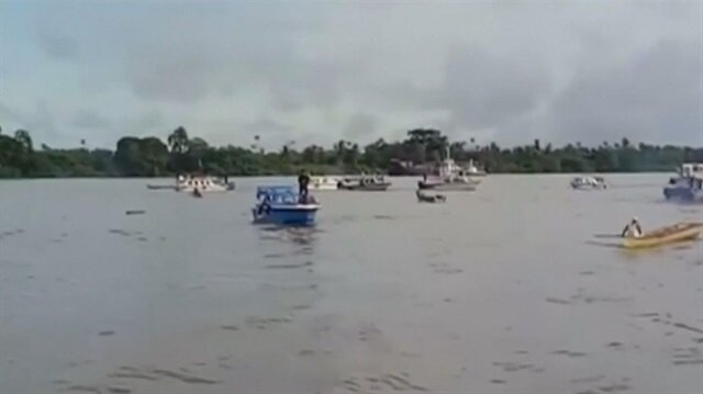 Eight dead as speedboat capsizes off Borneo island