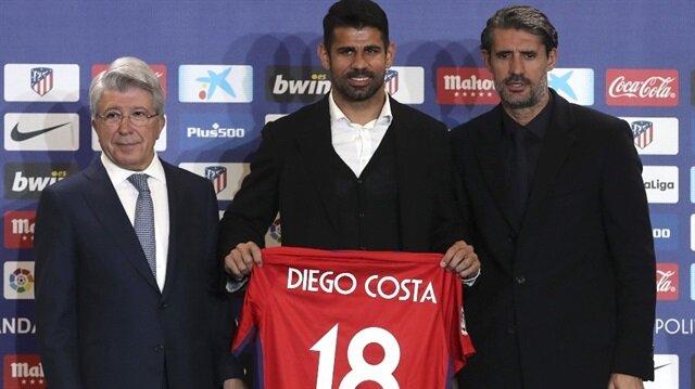Diego Costa yaptığı konuşmada, kendisini kulübe tekrar getiren için teşekkür etti.