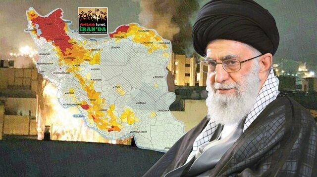 Yumurtadan isyan çıkaran İranlılar, gündüz işte gece ise eylemde. Ekonomik gerekçelerle ayaklananlar, işi kamu binalarına saldırı boyutuna kadar getirdi.