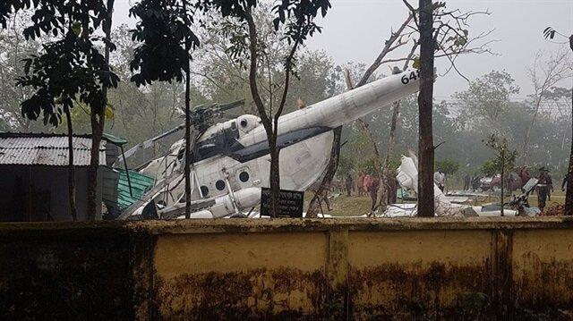 Kuveyt Genelkurmay Başkanı Muhammed el-Hıdır'ı taşıyan helikopter Bangladeş'te düştü.