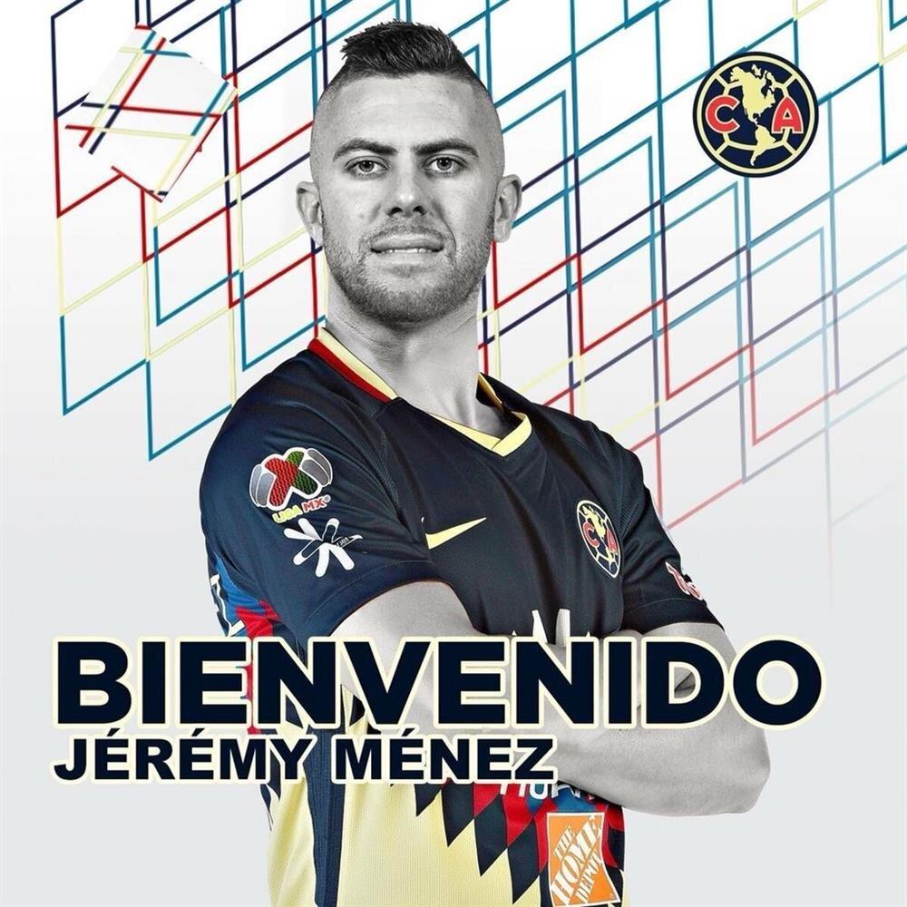 Jeremy Menez, Club America'da.