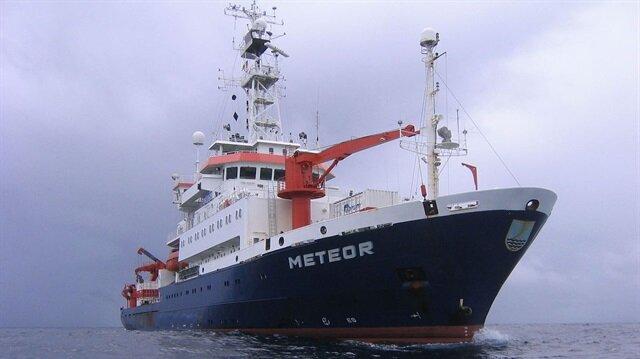 Almanya'ya ait Meteor isimli gemi