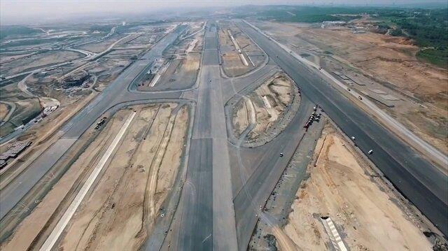3. Havalimanı'nda 100 metrelik sürpriz değişiklik