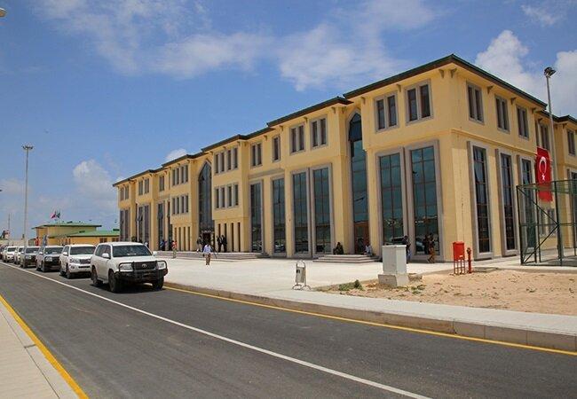 Somali'deki Türk askeri üssü.