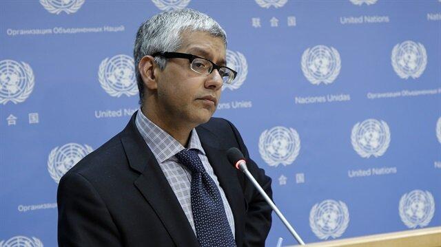 BM Genel Sekreter sözcülerinden Farhan Haq