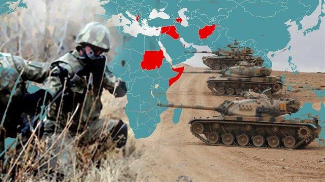 Türkiye, yurt dışında askeri üssü bulunan sayılı ülkeler arasında.