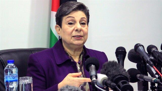 Filistin Yasama Konseyi üyesi Hanan Aşravi.