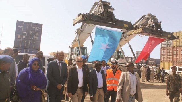 Mogadişu Limanı'nda kapasite genişliyor