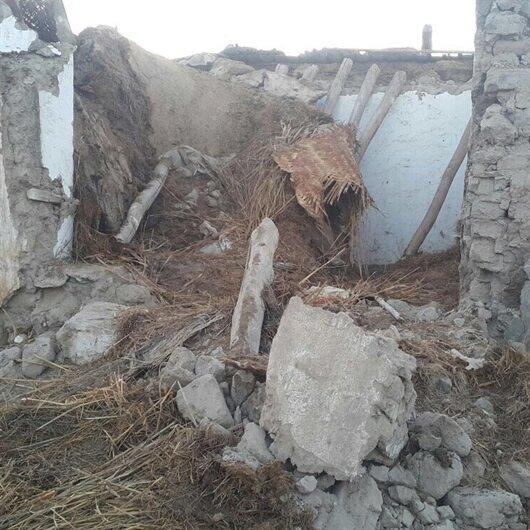 Askerden izinli geldiği köyünde çöken evin altında kaldı