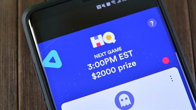 HQ bilgi yarışması uygulaması geçtiğimiz hafta 10 bin dolar dağıttı.