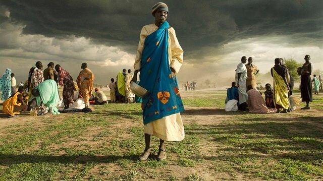 Güney Sudan'da 7 milyona yakın kişinin açlığın eşiğinde olduğu ve acil yardıma muhtaç olduğu ifade ediliyor.