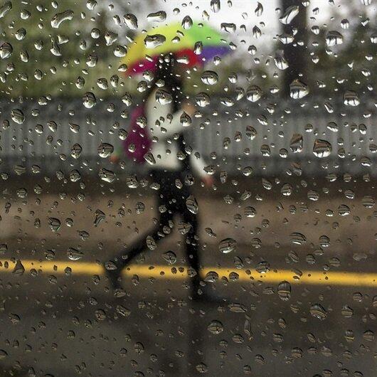 5 ile sağanak yağış uyarısı
