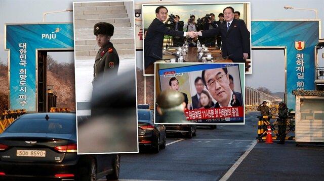 Kuzey Kore ile Güney Kore arasında üst düzey görüşme gerçekleştirildi.
