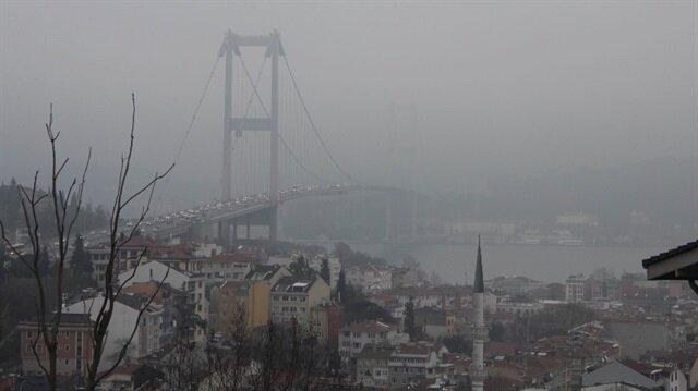 İstanbul'a adeta bulut indi!
