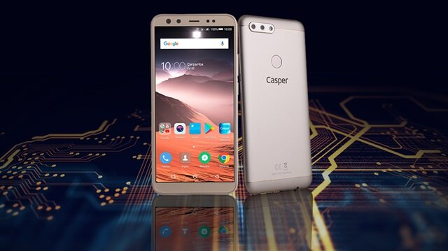 Casper VIA F2, 4 kamerası ve tasarımıyla oldukça başarılı bir akıllı telefon modeli.