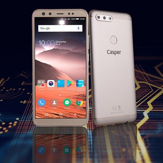 Yerli ve dört kameralı: Casper VIA F2