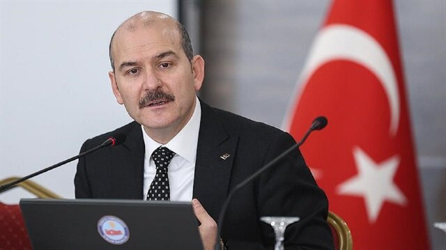 Turkish Interior Minister Suleyman Soylu
