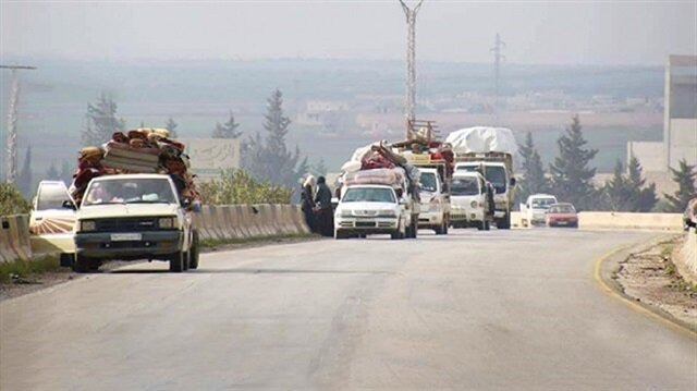 130000 displaced from Idlib as Syrian Army attacks last rebel-held enclave
