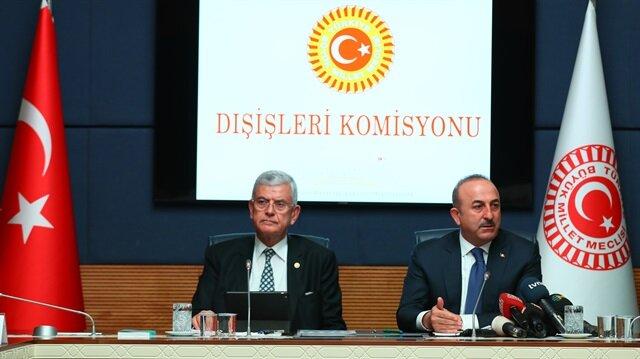 جاويش أوغلو: تركيا مستعدة لدعم فلسطين حال انقطاع الدعم الأمريكي